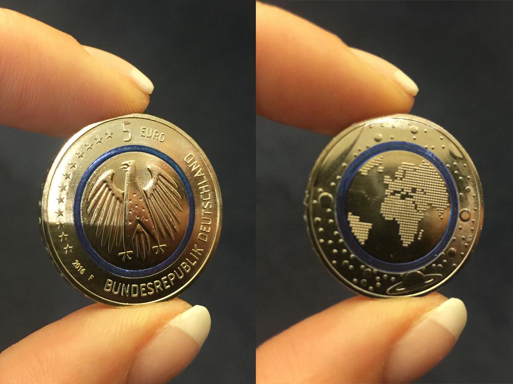 Die Neue 5 Euro Münze Planet Erde