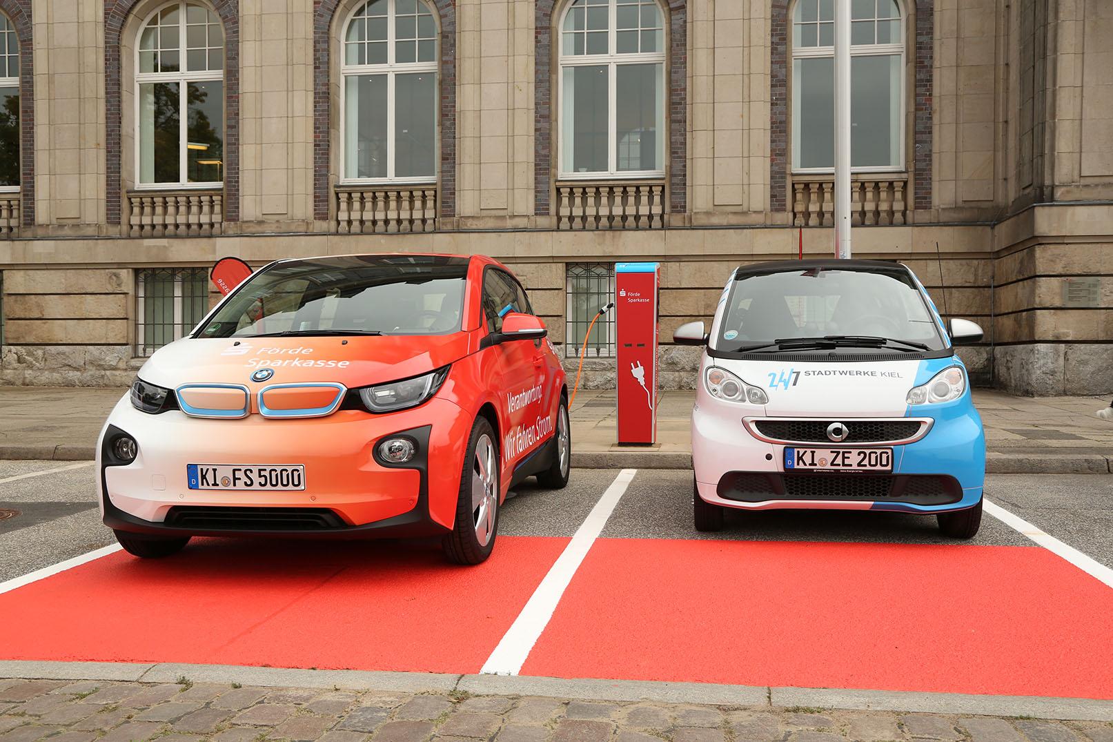 Elektroautos - jetzt Prämie sichern und bei uns kostenlos tanken ...