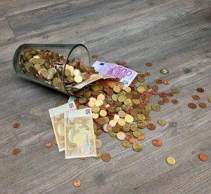 Geld für später