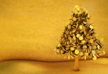 Baum aus Gold