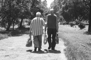 Ehepaar im Alter