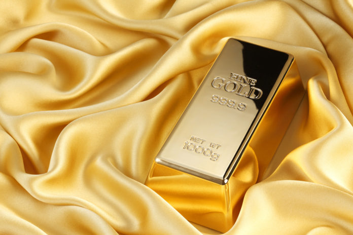 Goldgeschenk