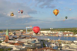 Balloon Sail über Kiel