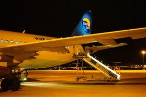 Thomas Cook Flugzeug