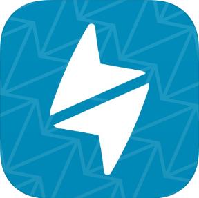 Logo der App happn