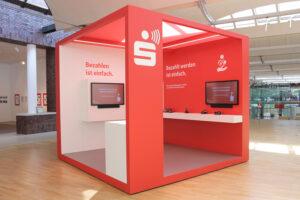 Payment Showroom der Förde Sparkasse