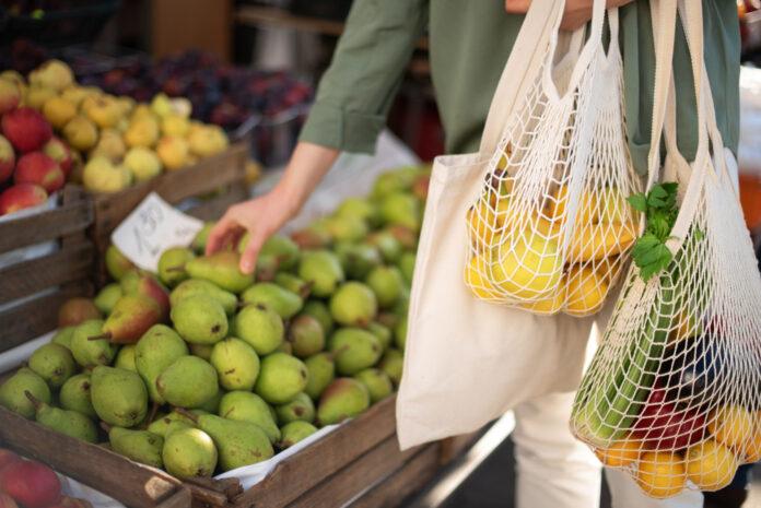 Nachhaltig einkaufen mit Obst- und Gemüsenetzen